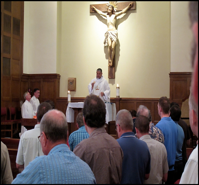 ​​​​Fr. Pinto mass for Fraternity of Fatherhood